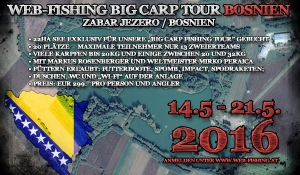 Fishing Tour Bosnien 2016